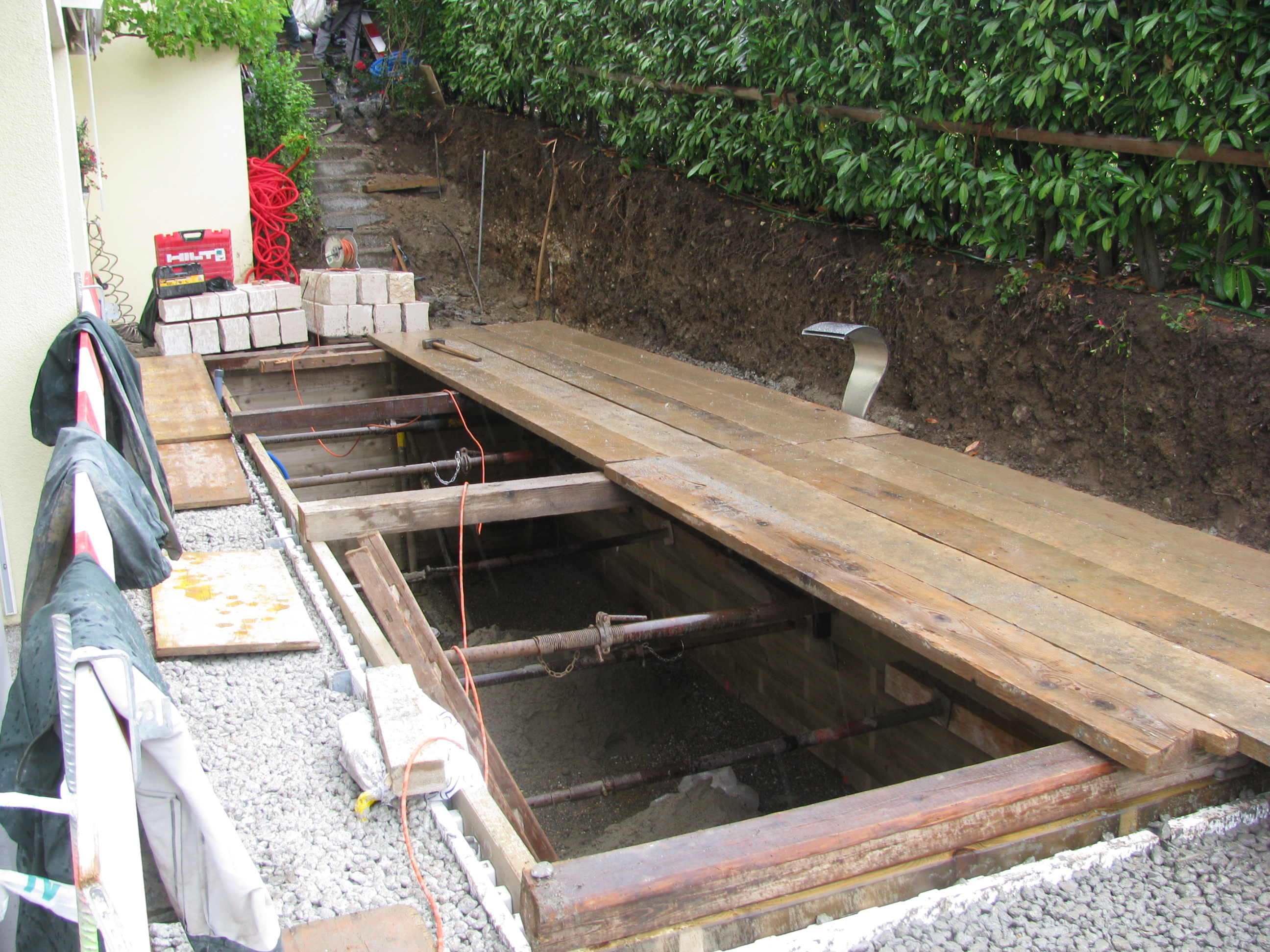 Garten im Umbau