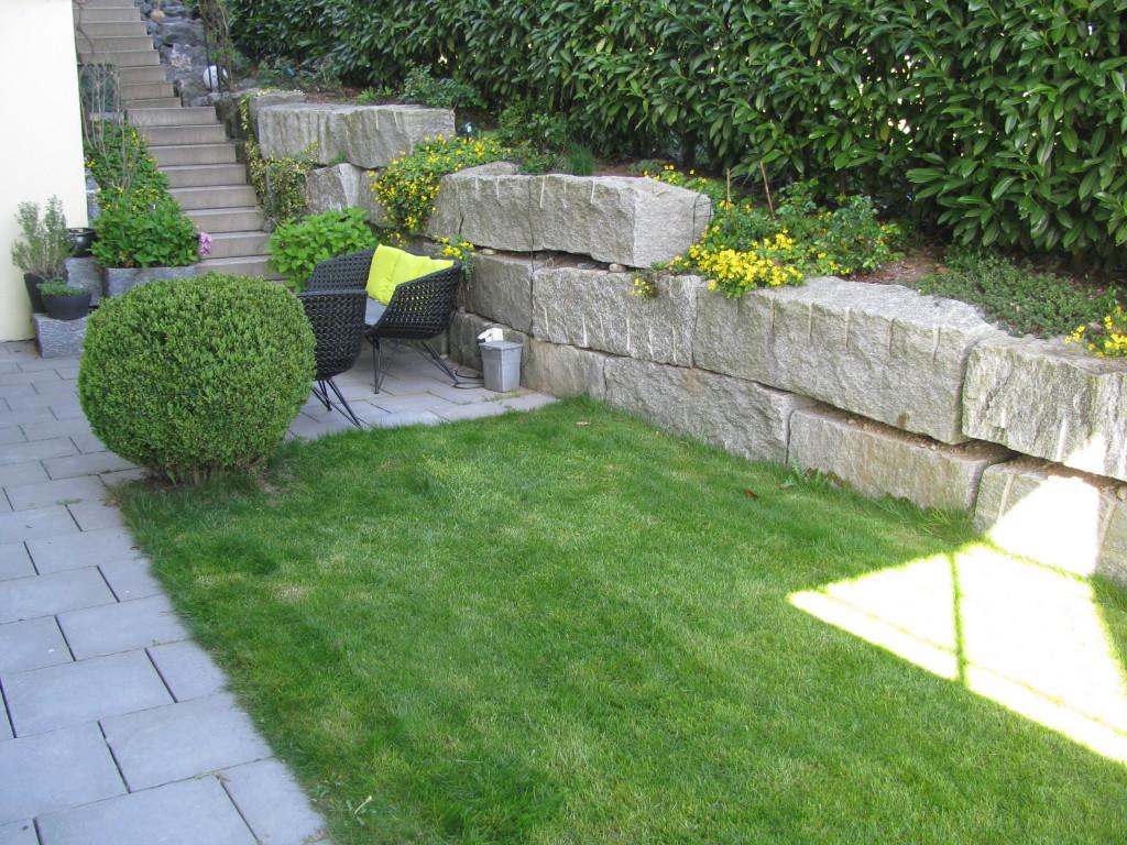 Garten vor dem Umbau